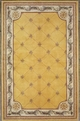 Jewel Fleur De Lis 308 Gold Area Rug by Kas
