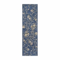 Nourison Julian Jl33 Light Blue Runner