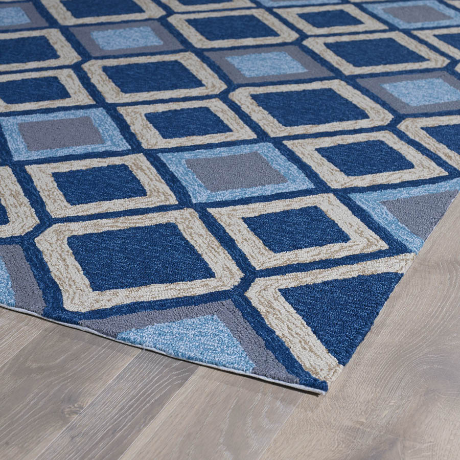 Kaleen Home And Porch 2033 17 Blue Area Rug