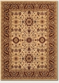 Kashan Cream Red Antique Anatolia Area Rug by Couristan