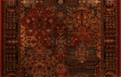 Kashimar Imperial Baktiari 8143/3203a Antique Red Custom Runner