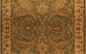 Kashimar Tabriz 8275/2313a Moss Green Carpet Stair Runner