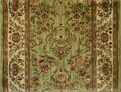 Kathy Ireland First Lady Stateroom 04300 State Garden Green Traditional Custom Runner