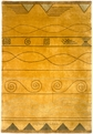 �lan EL05 Gold Hand Knotted 100% Wool MER Rugs