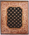 Le Palais PS-510 Black Ivory Area Rug by Kalaty