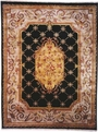 Le Palais PS-540 Black Ivory Area Rug by Kalaty