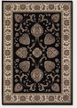 Leila Ebony 6382/5989 Everest Area Rug by Couristan
