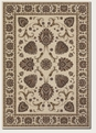 Leila Ivory 6382/5990 Everest Area Rug by Couristan