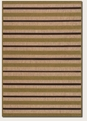 Light Rail Tan Chocolate 5779/3079 Urbane Outdoor Area Rug by Couristan