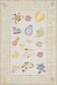 Lil Mo Classic LMI-02 Pale Yellow Area Rug by Momeni