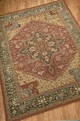 Living Treasures LI01 Rust Area Rug by Nourison