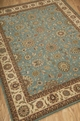 Living Treasures LI05 Aqua Rug by Nourison