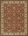 Living Treasures LI05 Rust Area Rug by Nourison