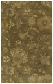 Magi 7201 Rose of Lebanon 59 Sage Area Rug by Kaleen