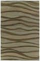 Mallard Creek 4702 Rushing Waters 60 Mocha Rug by Kaleen