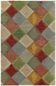 Mallard Creek 4705 Argyle 61 Robin's Egg Area Rug by Kaleen