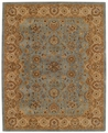 Medium Blue Gold Forest Park Area Rug by Capel