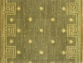 Metropolis ME05 Green Multi Carpet Stair Runner