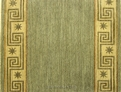 Metropolis ME06 Olive Brown Carpet Stair Runner