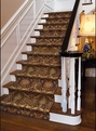 Modern Damask MD-01 Cocoa Carpet Stair Runner