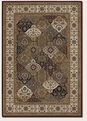 Mosaic Panel Crimson Multi 6380/5987 Everest Area Rug by Couristan