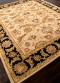 Mythos Selene MY02 Beige / Ebony Area Rug by Jaipur