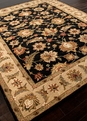 Mythos Selene MY03 Ebony / Sand Area Rug by Jaipur