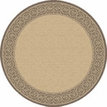 Natural Brown 2745 3091 Piazza Outdoor Area Rug By Dynamic