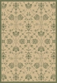 Natural Green 2744 1E06 Piazza Outdoor Area Rug By Dynamic