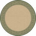 Natural Green 2745 1E61 Piazza Outdoor Area Rug By Dynamic