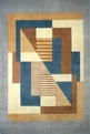 New Wave NW-06 Blue Area Rug by Momeni