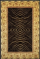 New Wave NW-09 Black Area Rug by Momeni