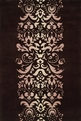 New Wave NW-114 Chocolate Area Rug by Momeni