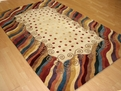 New Wave NW-12 Beige Area Rug by Momeni
