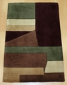 New Wave NW-19 Wine Area Rug by Momeni