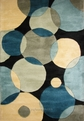 New Wave NW-37 Teal Area Rug by Momeni