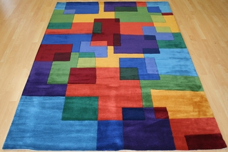 New Wave NW-49 Multi Area Rug by Momeni