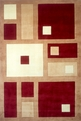 New Wave NW-50 Red Area Rug by Momeni