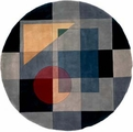 New Wave NW-54 Blue Area Rug by Momeni