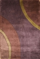 New Wave NW-80 Plum Area Rug by Momeni