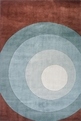 New Wave NW-82 Teal Rug by Momeni