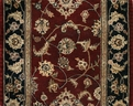 Nourison 2000 2002 Burgundy Traditional Custom Runner
