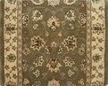 Nourison 2000 2003 Olive Traditional Carpet Stair Runner