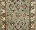 Nourison 2000 2114 Light Green Traditional Custom Runner