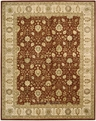 Nourison 3000 3102 Rust Area Rug by Nourison