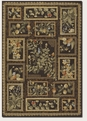 Orchard View Chocolate Multi 2185/5112 Covington Outdoor Area Rug by Couristan