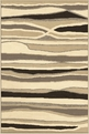 Orian Four Seasons Alfresco Stripe Driftwood Outdoor Area Rug