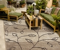 Orian Four Seasons Kingwood Driftwood Outdoor Area Rug