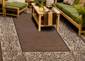 Orian Four Seasons Raleigh Mink Outdoor Area Rug