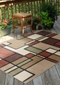 Orian Four Seasons Thorburn Rawhide Outdoor Area Rug